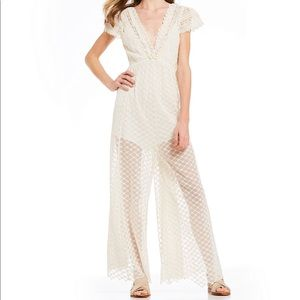 Free People Chleo Embroidered Maxi Jumpsuit